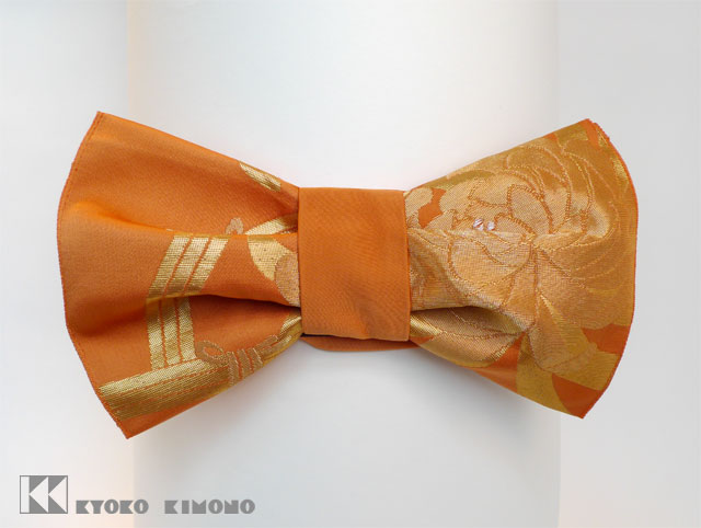 Orange Chrysanthemum Bow M1