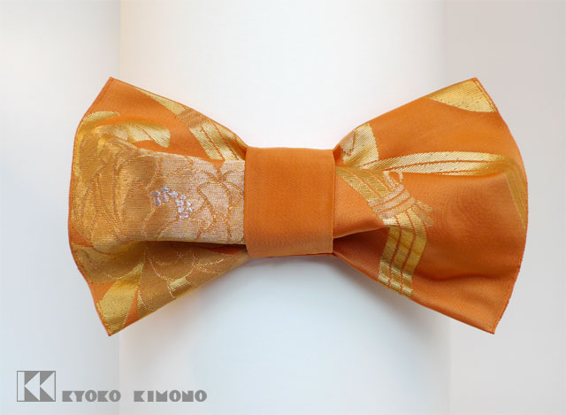 Orange Chrysanthemum Bow M2
