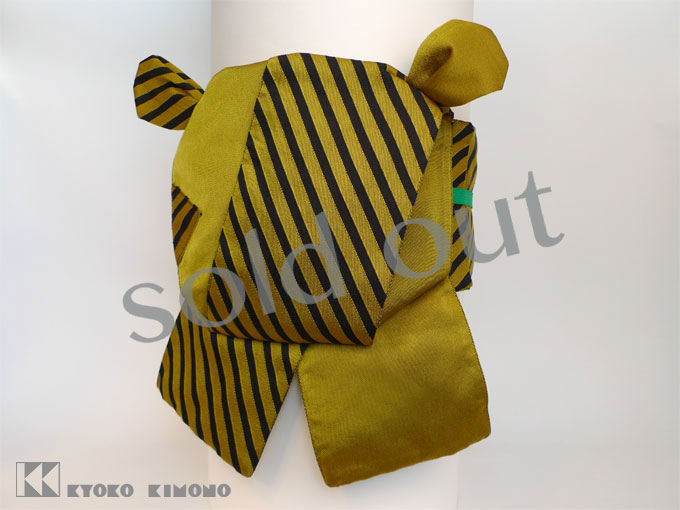 Stripe Tiger Tsukuriobi web S sold out